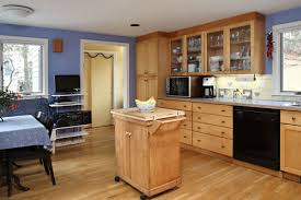 kitchen fascinating kitchen layout with maple wood floor and
