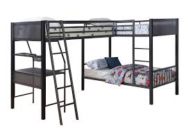 Metal Bunk Bed Frame Myers Metal Loft Bed Woodstock Furniture