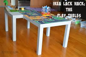 ikea lack tables ikea lack hack the play tables bisozozo