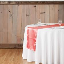 cheap coral table runners 14 x 108 in organza table runner coral
