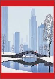 eyvind earle christmas cards 113 best vintage christmas seasonal cards images on