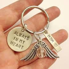 remembrance keychain remembrance keychain always in my heart memorial sympathy