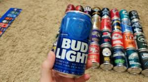 how much is a 36 pack of bud light bud light 36 pack of nfl team can full review youtube