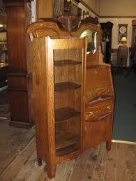 Antique Curio Cabinet With Desk I Think This Means I Have To Buy One Of These Side By Side