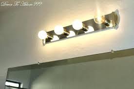 diy bathroom lighting full size of vanity lights farmhouse