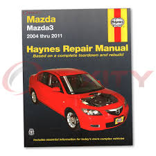 mazda 3 haynes repair manual i mazdaspeed sp23 shop service garage