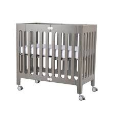 Alma Mini Crib Alma Mini Solid Wood Crib Bloom
