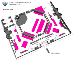 onsite information for exhibitors icra 2013