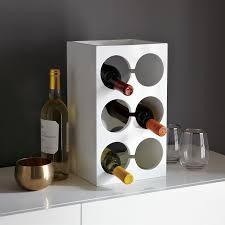 lacquer wine rack west elm