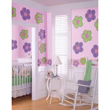 wallpops green pineapple isle locker kit wpl2298 the home depot purple poppies flowers wall decal