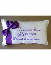 wedding kneeling pillows personalized wedding kneeling pillow with names and date