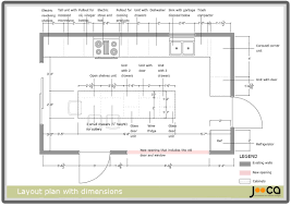 kitchen layouts with dimensions home design inspiraion ideas