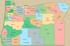 map of oregon state oregon association of community corrections directors county