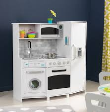Kidkraft Urban Espresso Kitchen - the ultimate guide to modern play kitchens thrifty littles