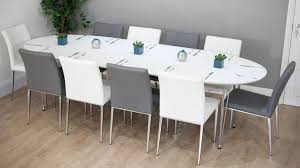 all glass dining room table small white round kitchen table large glass dining table seats 10