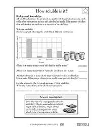 soluble insoluble experiment my classroom science pinterest