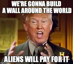 Because Aliens Meme - the reason is because aliens without paperwork are streaming