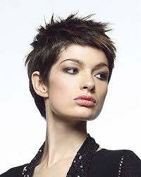 spiked hair with long bangs new trendy short hairstyles for women short hairstyles 2016