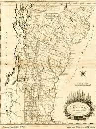 State College Map by State Maps Vermont Historical Society