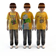 3d childrens clothes for boys t shirts