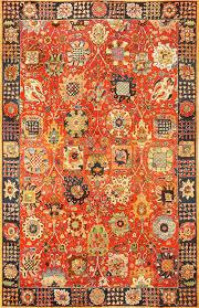 vintage german tetex hooked rug with tabriz design 49121 nazmiyal
