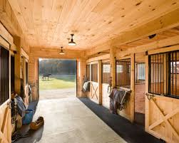 Barn Designs For Horses Horse Barn Houzz