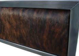 Custom King Headboard Unique Industrial Modern Steel Bed Kb Furnishings Modern