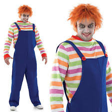 Chucky Costume Halloween Polyester Chucky Dress Costumes Men Ebay