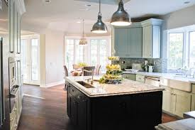 contemporary pendant lights for kitchen island over metal modern