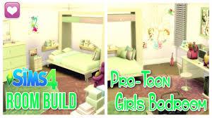 Pre Teens Bedroom Furniture The Sims 4 Room Build Custom Content Pre Teen Girls Bedroom