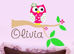 Nursery Owl Wall Decals Owl Wall Decals Beyondeight Co