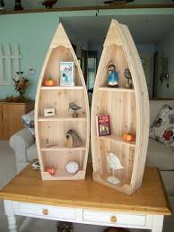 Canoe Shaped Bookshelf Fantastic Boat Shelf Etsy Boat Shaped Bookcase Bookcase Ideas