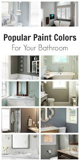 popular bathroom paint colors painted furniture ideas