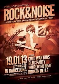 rock gig poster free psd flyer template http freepsdflyer com