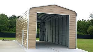 Steel Car Port Rv Metal Carports Steel Building Lean Too Metal Storage Garage