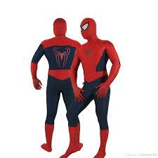 Xxxl Halloween Costume Halloween Lycra Spandex Zentai Costume Colours Spider Hero
