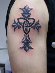 tribal cross tattoos 20 tribal cross tattoos for men
