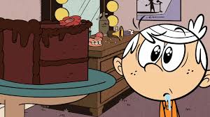 House Gif Image S1e24a That Cake Looks Good Gif The Loud House