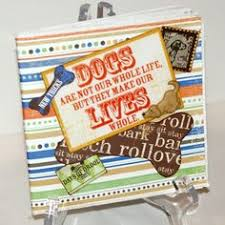 dog scrapbook album a house is not a home without a dog scrapbook