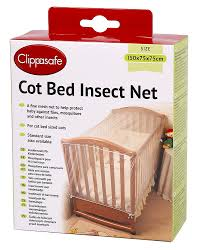 clippasafe cot bed insect net amazon co uk baby