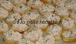 canapé saumon canapé aux rillettes de saumon recette apéritif saumon et canapés