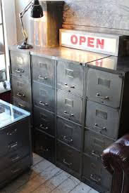Four Drawer Wood File Cabinet by Best 25 Industrial Filing Cabinets Ideas Only On Pinterest