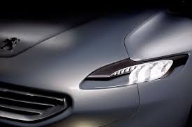 audi headlights poster peugeot quartz concept headlights places to visit pinterest