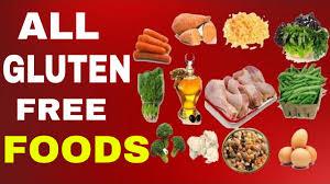 gluten free foods list youtube