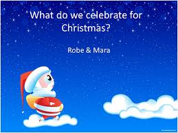 what do we celebrate for robe mara why most