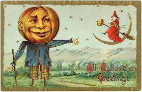 free antique halloween background halloween scarecrow middle night halloween scarecrow by