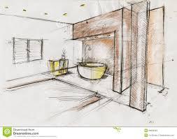 best interior design sketches and design interior sketch interior