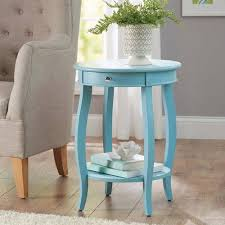 teal accent table better homes gardens round accent table with drawer multiple