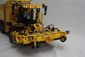 lego technic bucket wheel excavator technic delicatessen selfpropelled sugarbeet harvester the lego