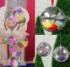 10pcs tree decor ornament 5cm type box transparent